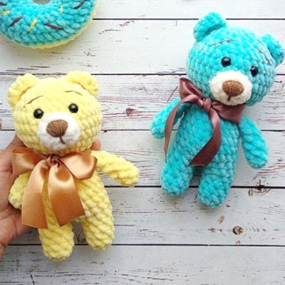 Little quick amigurumi bear (free crochet pattern and video tutorial)