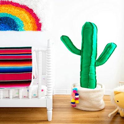 DIY Giant plush cactus (free sewing pattern)