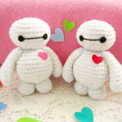 Amigurumi Baymax ( Big Hero 6 ) - free crochet pattern