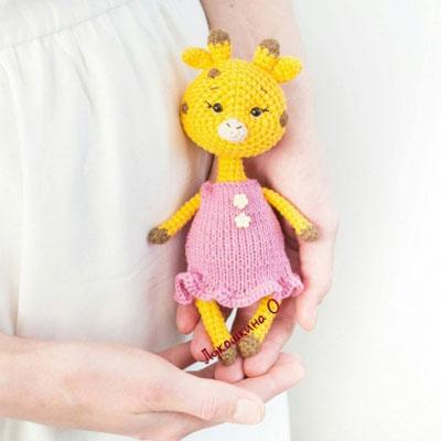 Amigurumi giraffe girl (free crochet pattern)