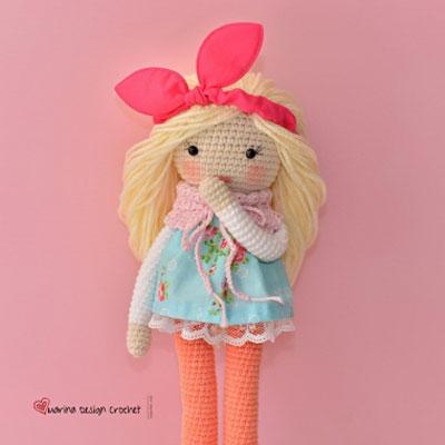 Matilda the amigurumi doll (free crochet pattern)