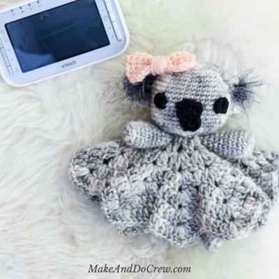 Cuddly koala baby lovely (free crochet pattern)