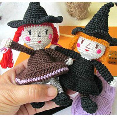 Amigurumi witches - free amigurumi witch pattern (hungarian)
