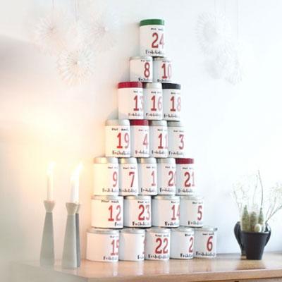 Tin can coffee advent calendar (advent calendar for adults)