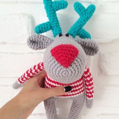 15 DIY Crochet Deer Ideas 2017 | 400x400