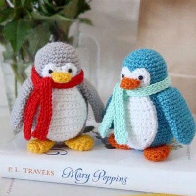 Amigurumi penguin (free crochet pattern & video tutorial)