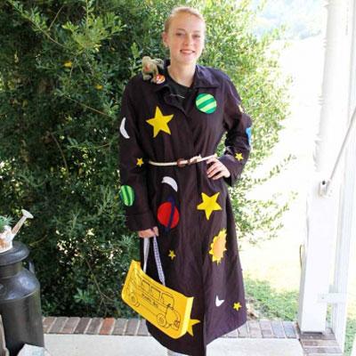 DIY Miss Valerie Frizzle costume ( The Magic School Bus )