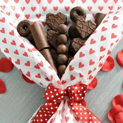 DIY Chocolate bouquet - Valentine's day gift idea