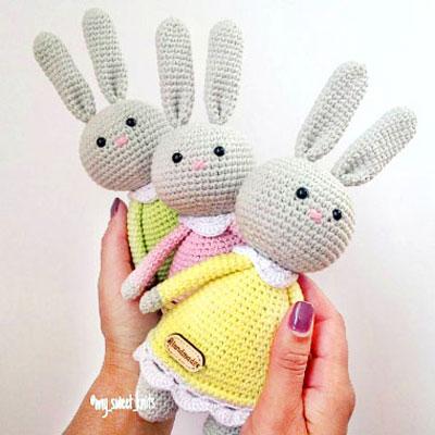 Ravelry: Baby Looney Tunes pattern by Gretel Crespo | 400x400