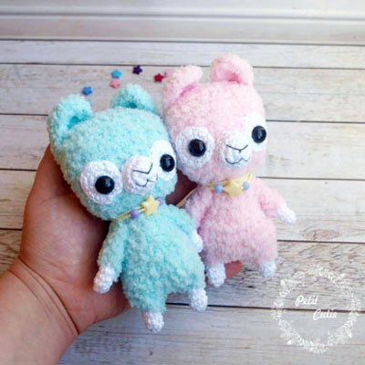 Amigurumi llama (amigurumi alpaca) - free crochet pattern