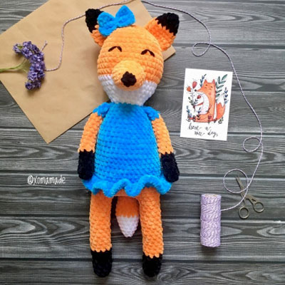 15 Crochet Fox Patterns - Crochet News | 400x400
