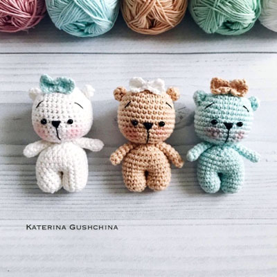 Super Cute Panda Crochet Patterns You Will Love | Crochet panda ... | 400x400