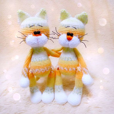 Needle felted cat keychain   amigurumi cat keychain   Flickr   400x400