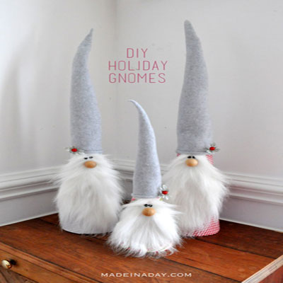 Holiday gnomes - cute winter decoration