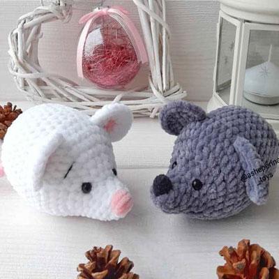 Free Mini Mouse Crochet Patterns | 400x400