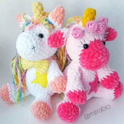Magical amigurumi unicorn (free crochet pattern)