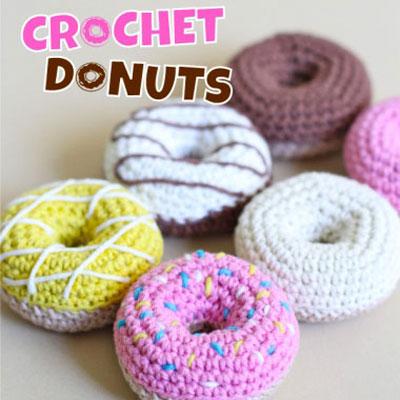 Amigurumi doughnut keychain (free crochet pattern)
