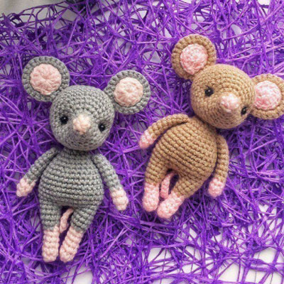 Tiny Amigurumi Ideas Free Crochet Patterns | 400x400