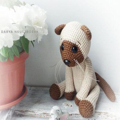 Crochet Valentine Cat Amigurumi Free Patterns | 400x400