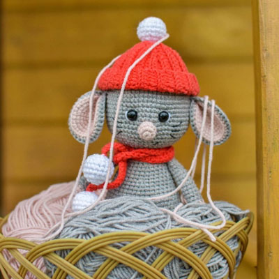 Amigurumi Little Mouse Crochet Free Patterns - Crochet & Knitting | 400x400