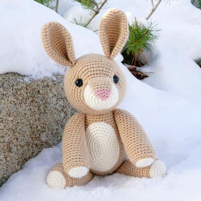 Rose the amigurumi rabbit ( free amigurumi pattern )