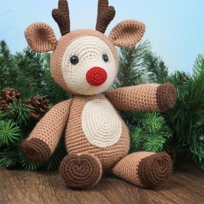 Dash the amigurumi reindeer (free amigurumi pattern)