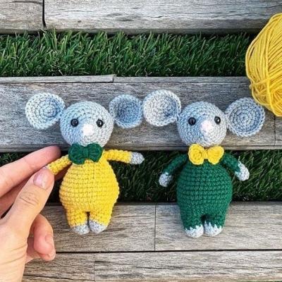 Lucy the Fairy Mouse amigurumi pattern - Amigurumipatterns.net | 400x400