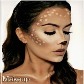 Easy DIY Deer makeup ( face painting