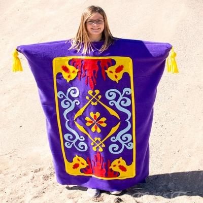 DIY Aladdin magic carpet costume - free pattern & sewing tutorial