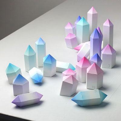 Icy crystal advent calendar