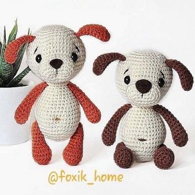 Little amigurumi dog ( amigurumi puppy) - free amigurumi pattern