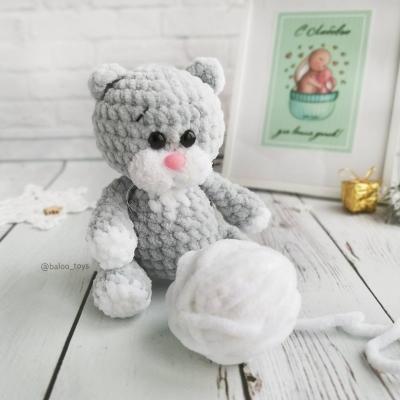 Monya the amigurumi kitten ( free amigurumi pattern )
