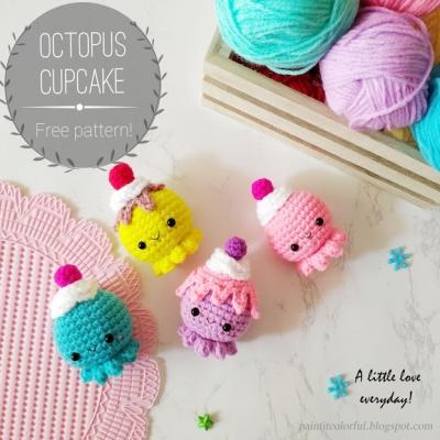 yarn octopus   Pepika - Amigurumi Sailor Octopus Pattern   Crochet ...   400x400