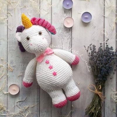 Garry the amigurumi unicorn (free amigurumi pattern)