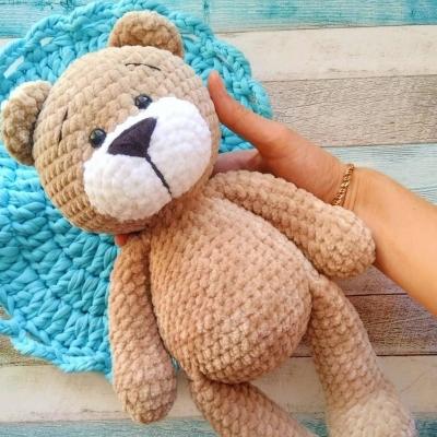 Soft amigurumi bear (free amigurumi pattern)