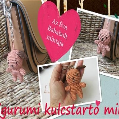Small amigurumi dog keychain (free amigurumi pattern)