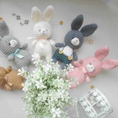Amigurumi bunny (free amigurumi pattern)