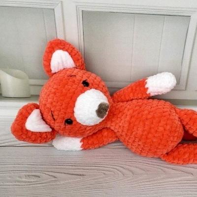 Soft amigurumi fox (free pattern + video tutorial)