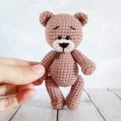 Tiny amigurumi bear (free amigurumi pattern)