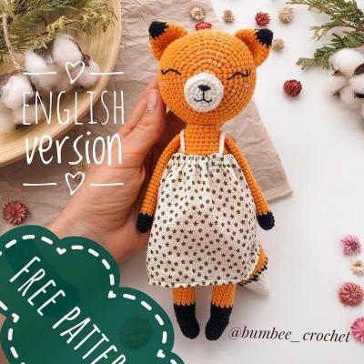 Amigurumi fox (free amigurumi pattern)