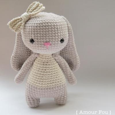 Bruna the amigurumi bunny(free amigurumi pattern)