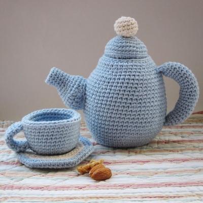 Amigurumi tea set (free amigurumi patterns)
