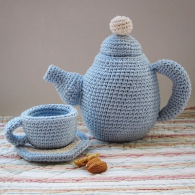 Amigurumi tea set (free amigurumi patterns)