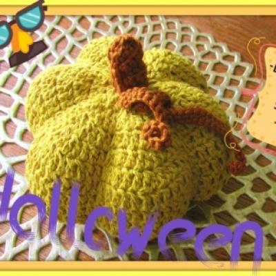 Crochet pumpkin ( free Hungarian crochet pattern )