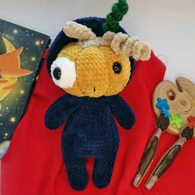 Mr. Pumpkin (amigurumi pumpkin) - free crochet pattern