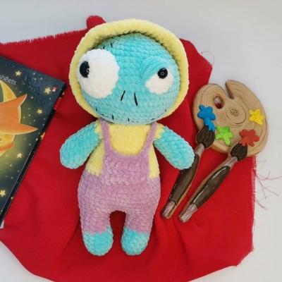 Mr. Zombie (amigurumi zombie) - free crochet pattern