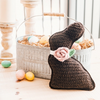 Crochet chocolate funny - Easter Project ( free crochet pattern )