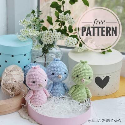 Amigurumi birds - crochet spring birds (free amigurumi pattern)