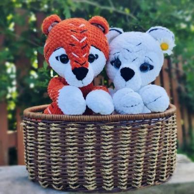 Amigurumi tiger cubs (free amigurumi pattern)