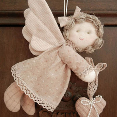 Quilted angel pattern and tutorial